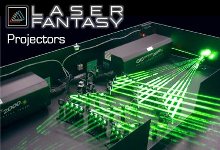 World Class Laser Light Show Projectors - Car laser light show